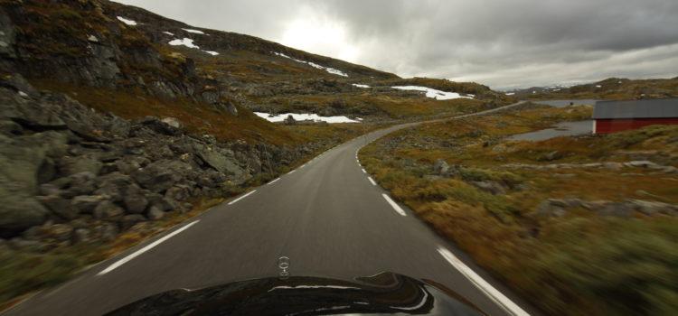 Hochebene und Gardasee, aber beides in Norwegen